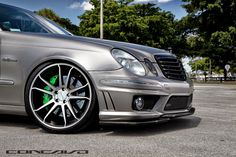 Mercedes-Benz W211 E500 on Concavo CW-5S | BENZTUNING | Performance and Style