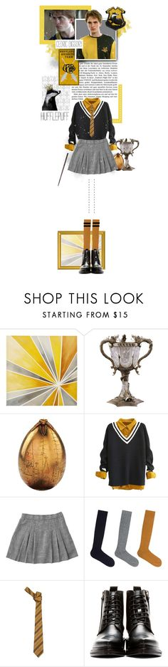"""""""Cedric Diggory"""" by inlovewithabook ❤ liked on Polyvore featuring Intelligent Design, SOXIETY, ELSE and Acne Studios"""