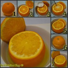 Food@Home Sweet Home: Effective Home Remedy for Cough = Steam Orange
