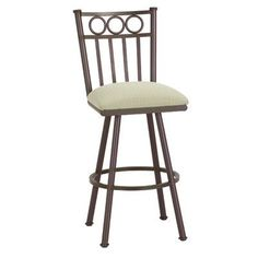 "Callee Washington 26"" Swivel Bar Stool Frame Finish: Pebblestone, Upholstery: Ford Dune"