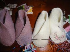 Baby fleece shoes