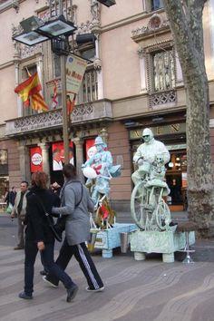Las Ramblas (Barcelona, Cataluña)
