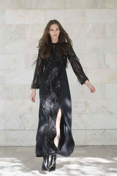Petal dress Sequin Maxi, Goth, Sequins, Collection, Dresses, Design, Style, Fashion, Goth Subculture