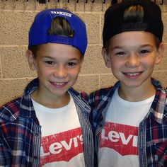 Marcus and Martinus at age 11