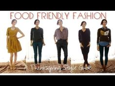 What to Wear for Thanksgiving: FOOD FRIENDLY FASHION - A Thanksgiving Style Guide
