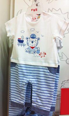 Pijama de verano en cien por ciento algodón | Figi's