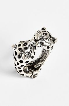 Cachet Creations 'Cheetah' Ring (Juniors) available at #Nordstrom