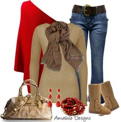 """Winter Casual"" by amabiledesigns on Polyvore"