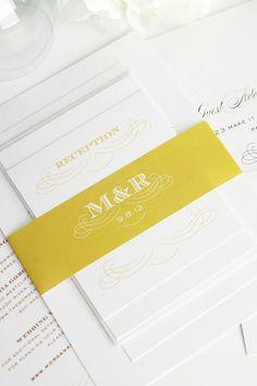 Wedding Stationery by Shine Wedding Invitations