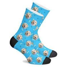 Custom Dog Socks - Put Your Dog on Socks! Beer Socks, Dog Socks, Custom Socks, Custom Ties, Floral Socks, Football Socks, Custom Football, Pets For Sale, I Love My Dad
