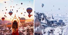 Cappadocia is a region of Turkey, which is characterized by an extremely interesting landscape of volcanic origin, the underground city, established in 1 thousand. BC. e.