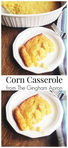 Corn Casserole- easy, delicious, and perfect for the holidays.