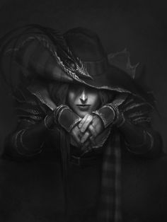Vampire Hunter D sketch, Josh Burns on ArtStation at http://www.artstation.com/artwork/vampire-hunter-d-sketch