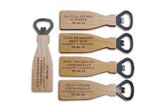 Groomsmen Gift SIX Personalized Bottle Opener Monogram