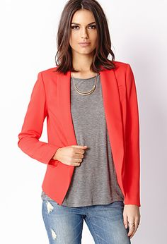 Statement Making Blazer | FOREVER 21 - 2000064338