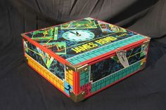 I will make one someday when I am bored!  LOL : )  - storage box made out of a board game