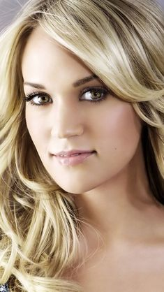 Carrie Underwood Music, Carrie Underwood Makeup, Carrie Underwood Pictures, Beautiful Women, Beautiful Eyes, Simply Beautiful, Country Music, Country Singers, All American Girl
