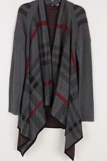 Plaid Print Sweater