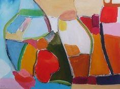 "Saatchi Art Artist Sarah Stokes; Painting, ""i just called to say hello"" #art"