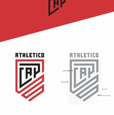 Athletico Paranaense - Rebranding | Juventus Inspired on Behance Football Logo Design, Team Logo Design, Branding Design, Monogram Design, Monogram Logo, Hexagon Logo, Logo Desing, Typographic Logo, Club Design