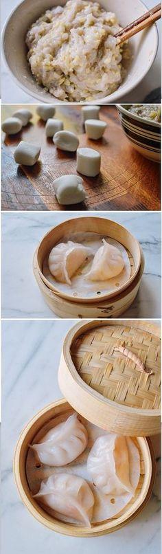 Har Gow, (Dim Sum Shrimp Dumpling)