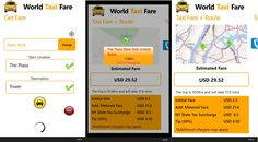 Download World Taxi Fare for Windows Phone and Forget about fare details - Nokia WP Blog