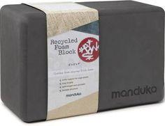 Manduka Recycled-Foam Yoga Block Thunder
