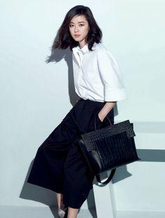 由全智贤代言的韩国高级饰品品牌rouge&lounge 2015年春夏季新品