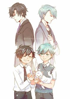 Jumin and V childhool friend