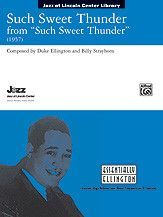 Such Sweet Thunder (from Such Sweet Thunder) (Conductor Score)