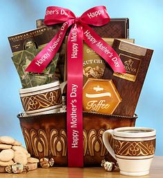 lol I'll take one of these please! Mother's Day gift hamper