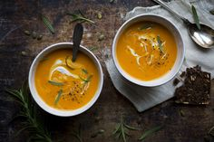 Roasted Butternut & Coconut Soup   31 Delicious New Ways To Cook Butternut Squash