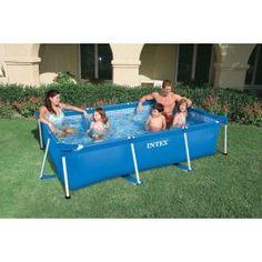 25 beste idee n over rechthoekig zwembad op pinterest for Rechthoekig zwembad
