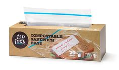 The zipper bag you used today kept your food fresh for lunch, but is now headed to a landfill where it will spend the next few hundred years. Thanks to TIPA, the bag you use tomorrow doesn't have to be harmful for the environment. TIPA's 100% compostable zipper bags keep your food fresh, but can then head to a composter along with other food waste to be turned into valuable fertilizer. #ecofriendly #compostable #packaging #ziplock