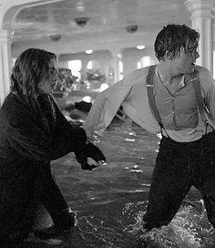Kate Winslet & Leonardo DiCaprio (Titanic) Rose and Jack.