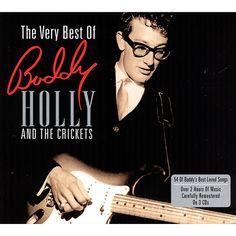 """Buddy Holly: edita su primer LP The """"Chirping"""" Crickets y con él, """"That'll Be the Day"""", su primer número uno a nivel estadounidense y británico. Además publica otros clásicos como """"Peggy Sue"""" y """"Oh, Boy!""""."""