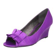 purple shoes