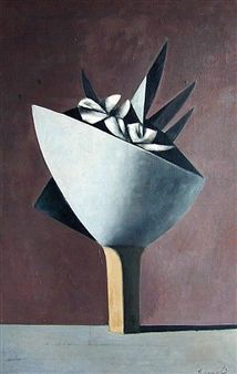 Barnabe Flower in Pot By Duilio Barnabe