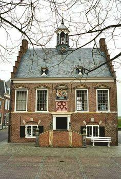 Stadhuis (City Hall) Ameide (Holland)