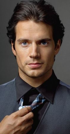 Dream cast- Henry Cavill as Christian Grey.