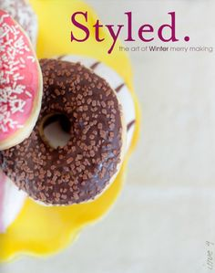 Styled magazine winter/2012 #celebration #craft #design #DIY #food #handmade #party #free