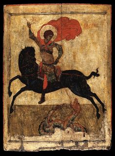 "Visit the Chrysler Museum of Art in Norfolk, VA for the exhibit ""Saints and Dragons: Icons from Byzantium to Russia."" Showing until January 10, 2016."