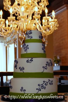 Latest Wedding Creation - Simple Elegance... Simple Elegance, Elegant, Wedding Reception Decorations, Cake Art, Great Recipes, Cake Decorating, Good Food, Cupcakes, Sweets