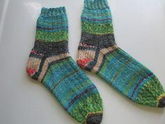 Hand Knit  Adult Socks  Size 9 by SpruceCottageKnits on Etsy