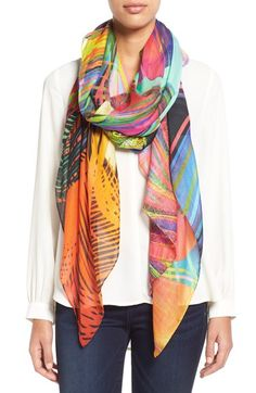 Chelsey Patterned Scarf