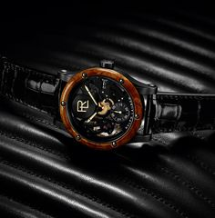 ralph lauren designs watch based on 1938 bugatti type 57SC atlantic coupe