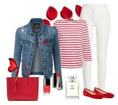 Just for me by carolannstyle on Polyvore featuring Saint James, LE3NO, Joseph, Vince Camuto, Burberry and Chanel