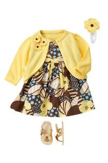 Love this outfit for a baby girl.