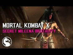 MKX How to perform Mileenas Low Pounce secret Brutality Mileena, Mortal Kombat X, Awesome Stuff, Movie Posters, Film Poster, Popcorn Posters, Film Posters, Posters