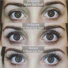 Rodan + Fields Lash Boost helps lashes look longer and darker! Applying False Eyelashes, Applying Eye Makeup, False Lashes, Rf Lash Boost, Lash Boost Serum, Eyelash Serum, Evening Makeup, Long Lashes, Thicker Eyelashes